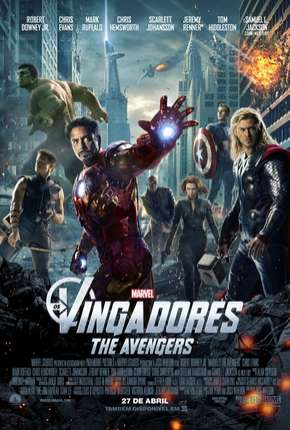 Os Vingadores - The Avengers BluRay