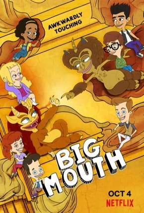 Capa Big Mouth - 3ª Temporada