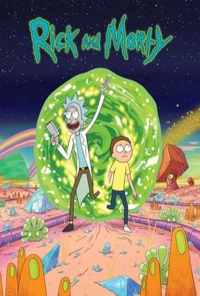 Capa Rick and Morty - 1ª Temporada - Completa