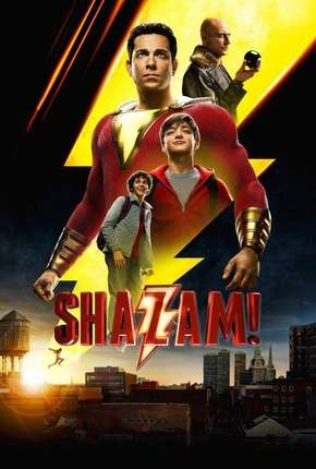 Capa Shazam BluRay