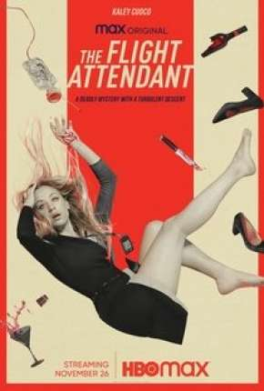 The Flight Attendant - 1ª Temporada Legendada