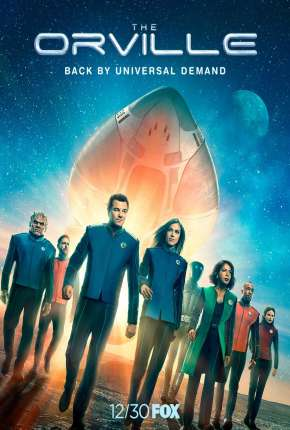 Capa The Orville - 2ª Temporada